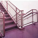 Roppe Rubber Flooring for the Stairs/Stairwells