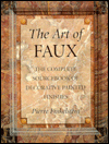 Click here for larger photo of The Art of Faux: The Complete Sourcebook of Decorative Painted Finishes
