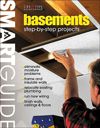 Click here for larger photo of Smart Guide: Basements: Step-by-Step Projects (Smart Guide)