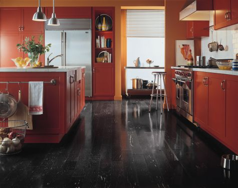Kitchens Flooring Idea Maple Black By Armstrong Hardwood