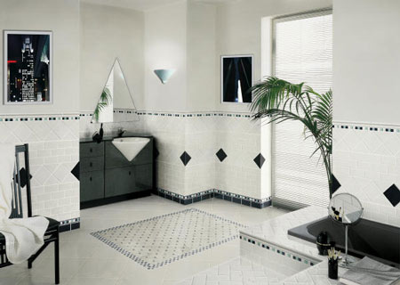 Bathroom flooring idea : RetroClassic by Florida Tile