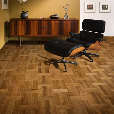 Home Office Study Flooring Idea Oak Palazzo Rovere By