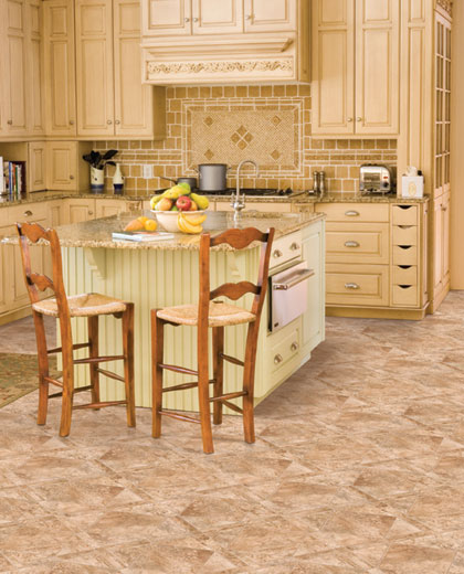 Kitchens Flooring Idea Naturals San Giovanni By Mannington Vinyl Flooring