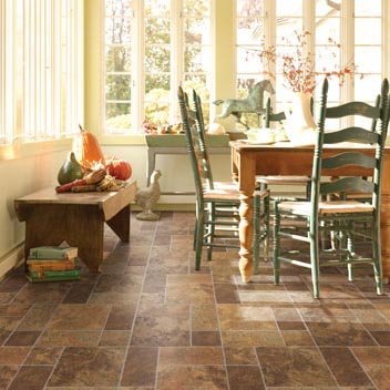 Dining Room Areas Flooring Idea Naturals Socorro Slate
