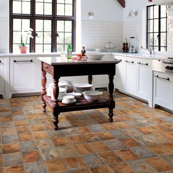 Kitchen Floor Mats: Slate Kitchen Flooring Options