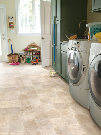 Laundry room floor ideas home design inside for Laundry room floor ideas
