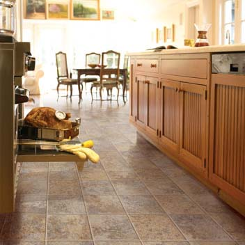 Kitchens flooring idea sobella supreme sobella vesuvius for Cheap kitchen flooring ideas