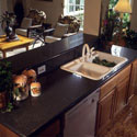 Silestone® quartz surface in the kitchen