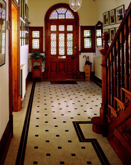 Victorian Foyer News : Amtico vinyl flooring brand review