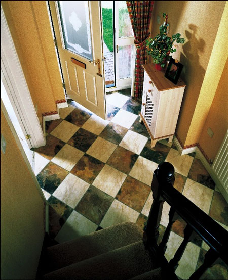 Small Foyer Flooring : Foyers entry flooring idea great ideas for small