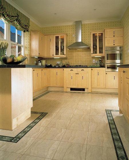 Kitchens flooring idea SD14 Sedimentary Sandstone Light