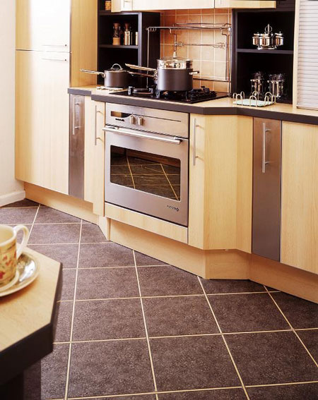 Kitchens flooring idea : AM39 Antique Metal Pewter with W693E Beech ...