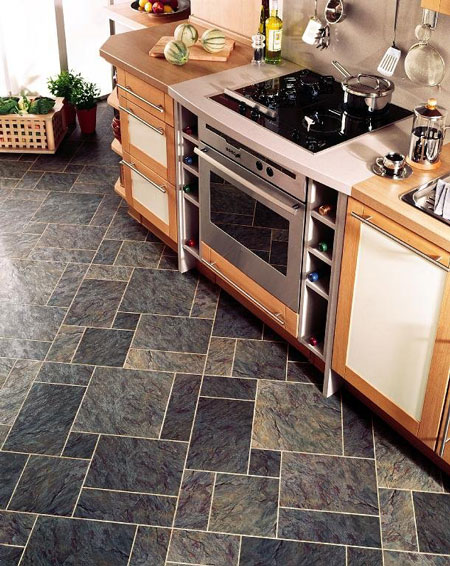 Kitchens flooring ideas room design and decorating options for Kitchen floor ideas