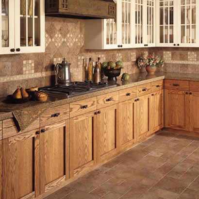 Kitchens flooring ideas room design and decorating options for Kitchen floor tile ideas