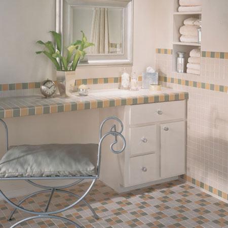 Bathrooms flooring idea permabrites by daltile tile for Daltile bathroom ideas