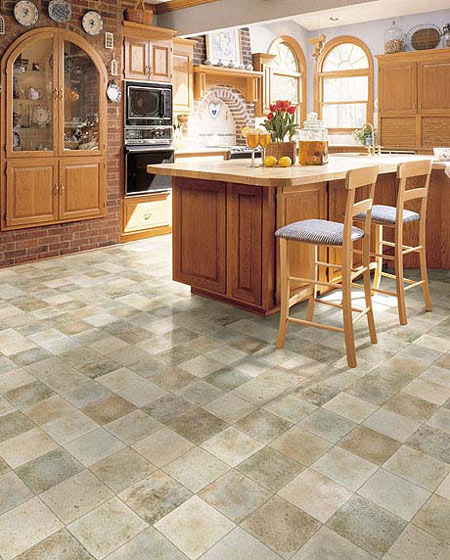 Kitchens Flooring Idea Versatile By Domco Vinyl