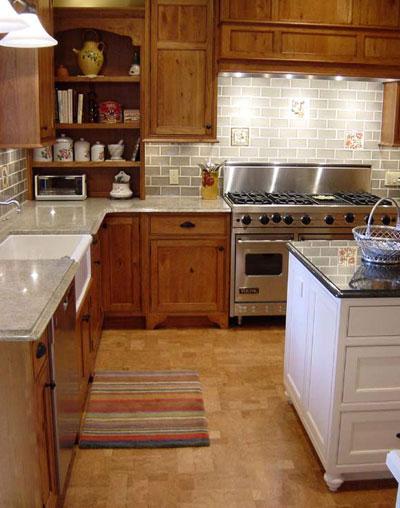 Kitchens flooring idea Contemporary Algarve by Expanko Cork Flooring – Cork Flooring Kitchen
