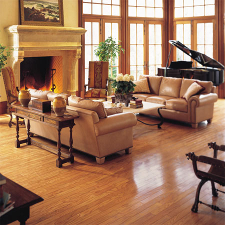 living rooms flooring idea pulaski plank light oak by