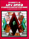 Click here for larger photo of Art Deco Stained Glass Pattern Book