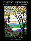 Click here for larger photo of Tiffany Windows Stained Glass Pattern Book