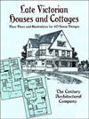 Click here for larger photo of Late Victorian Houses and Cottages: Floor Plans and Illustrations for 40 House Designs