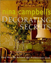 Click here for larger photo of Nina Campbell's Decorating Secrets : Easy Ways to Achieve the Professional Look
