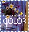 Click here for larger photo of Laura Ashley Color : Using Color to Decorate Your Home