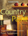 Click here for larger photo of Country Living Country Paint: Traditional Decorative Paint Techniques
