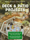 Click here for larger photo of Better Homes and Gardens Deck and Patio Projects You Can Build