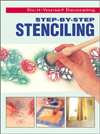 Click here for larger photo of Step-By-Step Stenciling (Do-It-Yourself Decorating)