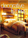 Click here for larger photo of Decorative Lighting Ideas & Projects (Better Homes & Gardens