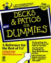 Click here for larger photo of Decks & Patios for Dummies