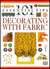 Click here for larger photo of 101 Essential Tips on Decorating with Fabric
