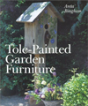 Click here for larger photo of Tole-Painted Garden Furniture