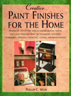 Click here for larger photo of Creative Paint Finishes for the Home