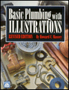 Click here for larger photo of Basic Plumbing With Illustrations