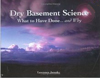 Click here for larger photo of Dry Basement Science: What to Have Done... And Why