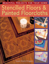 Click here for larger photo of Stencilled Floors & Painted Floorcloths : Beautiful Projects for Your Home