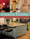 Click here for larger photo of Creative Finishes : Step-by-Step Techniques for Leafing, Sponging, Antiquing & More