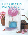 Click here for larger photo of Decorative Painting for the first time