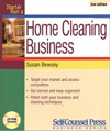 Click here for larger photo of Start and Run a Home Cleaning Business