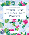 Click here for larger photo of Decorating Furniture: Stencil, Paint and Block Print Projects
