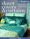 Click here for larger photo of Oh Sew Easy Duvet Covers & Curtains: 15 Projects for Stylish Living