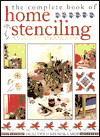 Click here for larger photo of The Complete Book of Home Stenciling