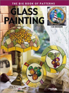 Click here for larger photo of Glass Painting: The Big Book of Patterns