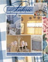 Click here for larger photo of Fabric All Through the House: Window Treatments, Pillows, Bed Coverings, Tablecloths, and More