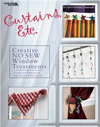 Click here for larger photo of Curtains, Etc.: 58 Creative No-Sew Window Treatments