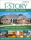 Click here for larger photo of Most-Popular 1-Story Home Plans