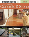 Design Ideas for Decorative Concrete and Stone (Design Ideas Series)