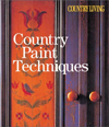 Click here for larger photo of Country Living Country Paint Techniques